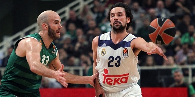 Regular Season, Round 26: Panathinaikos Superfoods Athens vs. Real Madrid