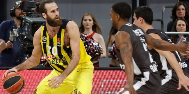 Fenerbahce's Datome, out three weeks
