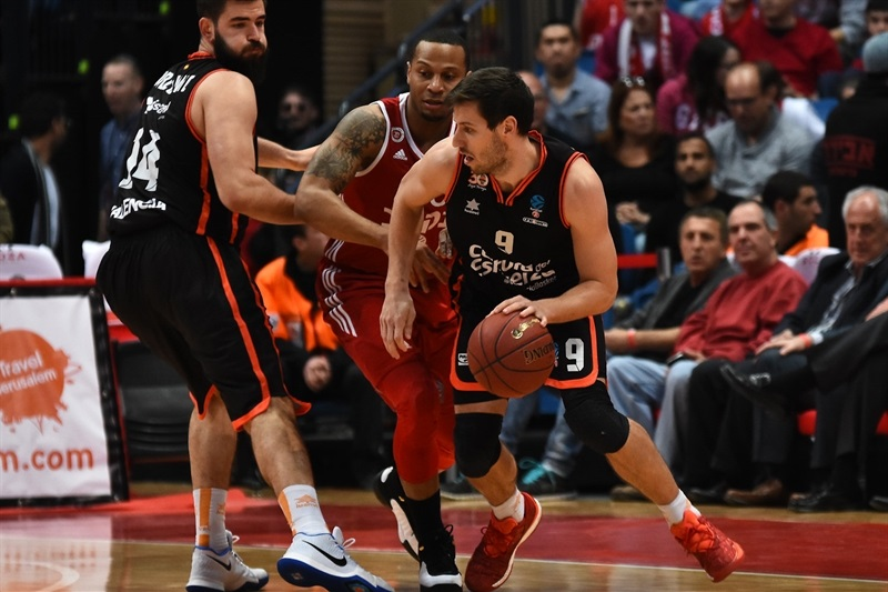 Sam Van Rossom - Valencia Basket - EC16 (photo Hapoel)