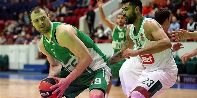 Regular Season, Round 26: Unics Kazan vs. Zalgiris Kaunas