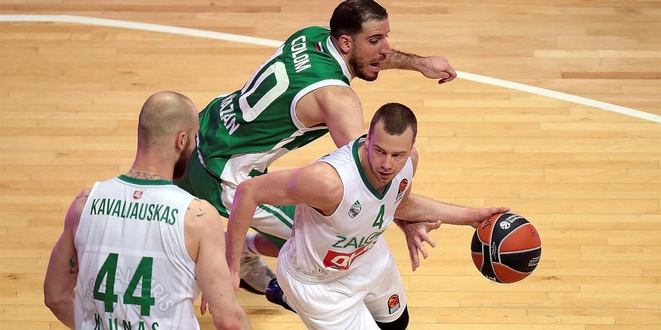Regular Season Round 26: Zalgiris pulls out road win in Kazan