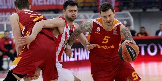 Regular Season Round 26: Galatasaray stuns host Olympiacos with comeback victory