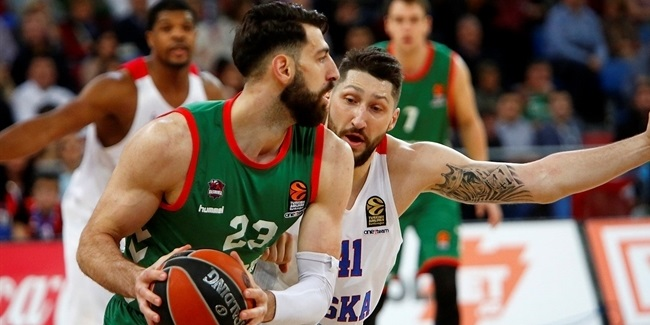 Regular Season, Round 26: Baskonia Vitoria Gasteiz vs. CSKA Moscow
