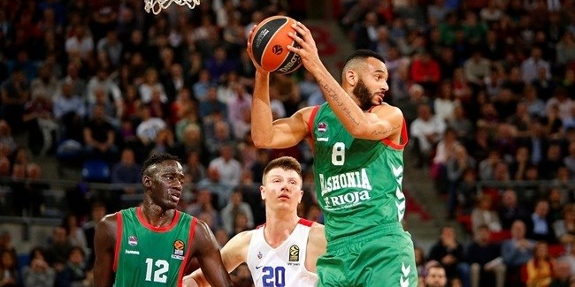 Regular Season Round 26: Baskonia wins thriller  against CSKA
