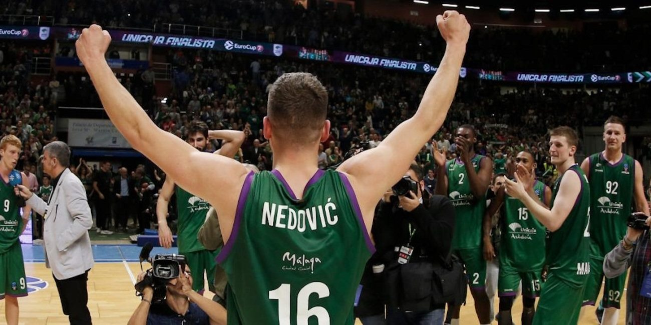 Unicaja Celebrates - EC16 (photo Unicaja)