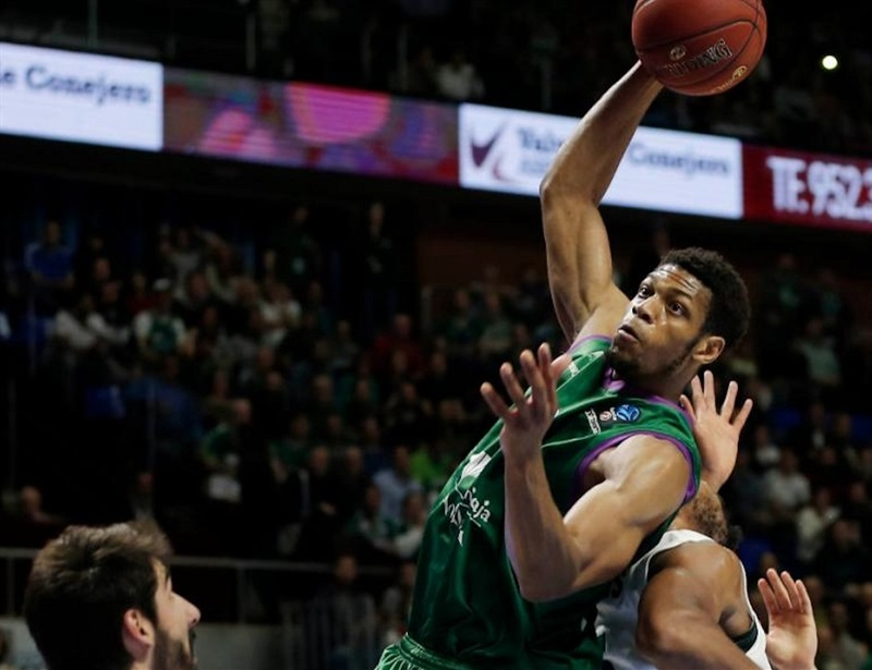 Jeff Brooks - Unicaja Malaga - EC16 (photo Unicaja - Mariano Pozo)