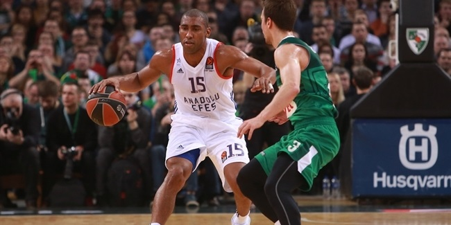 Regular Season Round 27: Granger leads Efes to critical win in Kaunas
