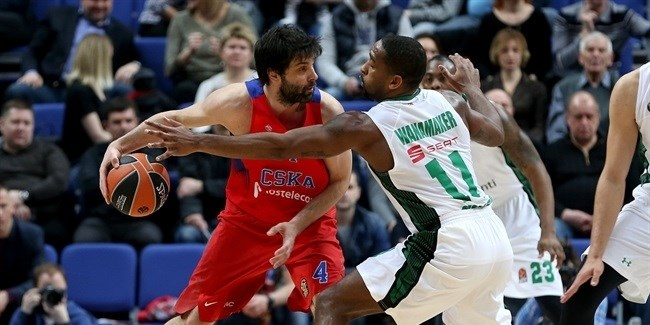 Regular Season Round 27: CSKA beats Darussafaka, secures home-court advantage in playoffs