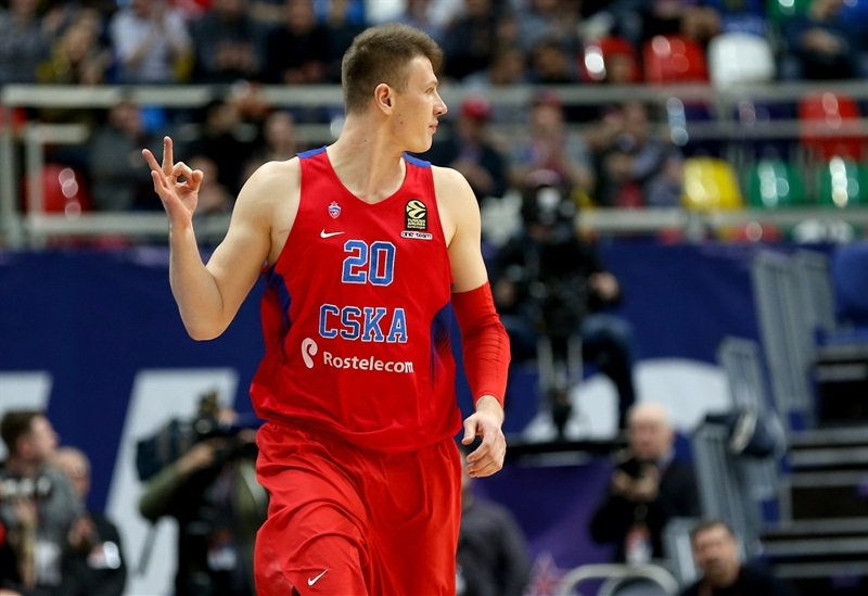 Andrey Vorontsevich - CSKA Moscow - EB16