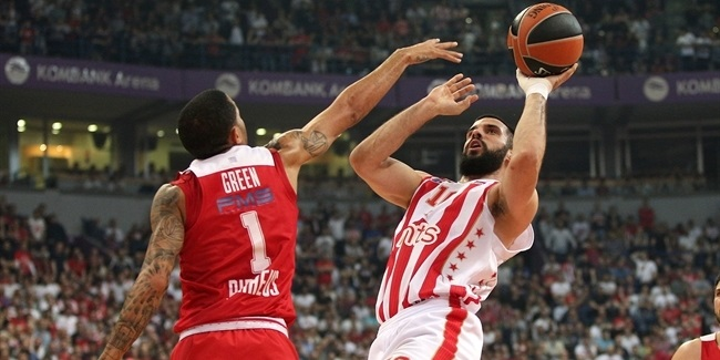 Regular Season, Round 27: Crvena Zvezda mts Belgrade vs. Olympiacos Piraeus