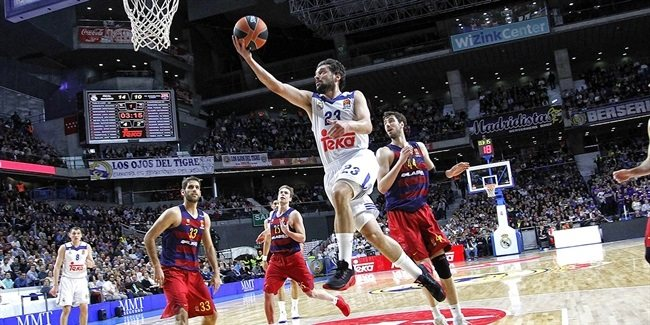 Regular Season Round 27 MVP: Sergio Llull, Real Madrid