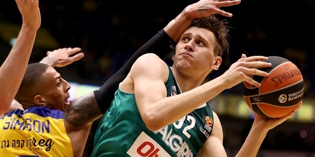 Regular Season Round 28: Ulanovas leads Zalgiris to road win in Tel Aviv