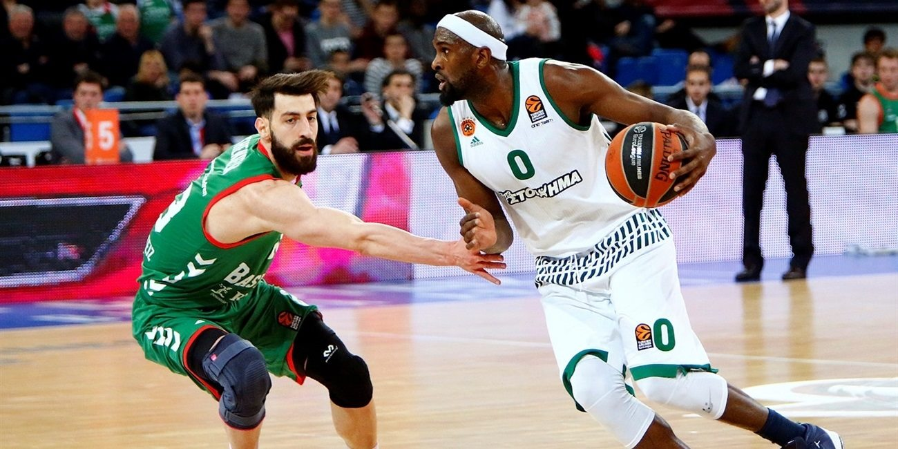 Regular Season Round 28: Panathinaikos downs Baskonia on the road