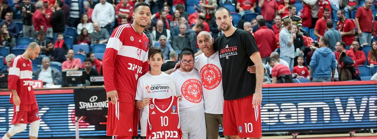 Interview with One Team Ambassador for Hapoel Bank Yahav Jerusalem, Isaac Rosefelt