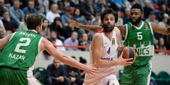 Regular Season Round 28: CSKA's All-EuroLeague guards star to beat Unics