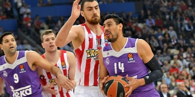 Regular Season, Round 28: Olympiacos Piraeus vs. Real Madrid