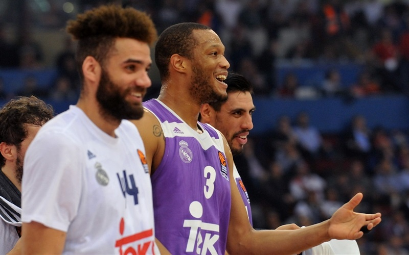 Anthony Randolph celebrates - Real Madrid - EB16