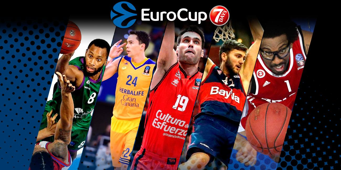 2016-17 All-7DAYS EuroCup Second Team