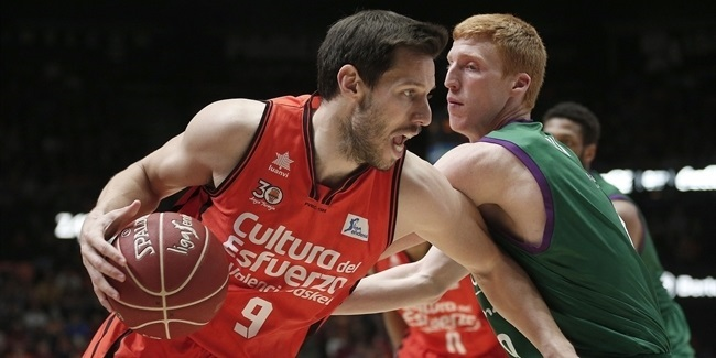 Valencia downs Unicaja in domestic preview of 7DAYS EuroCup Finals