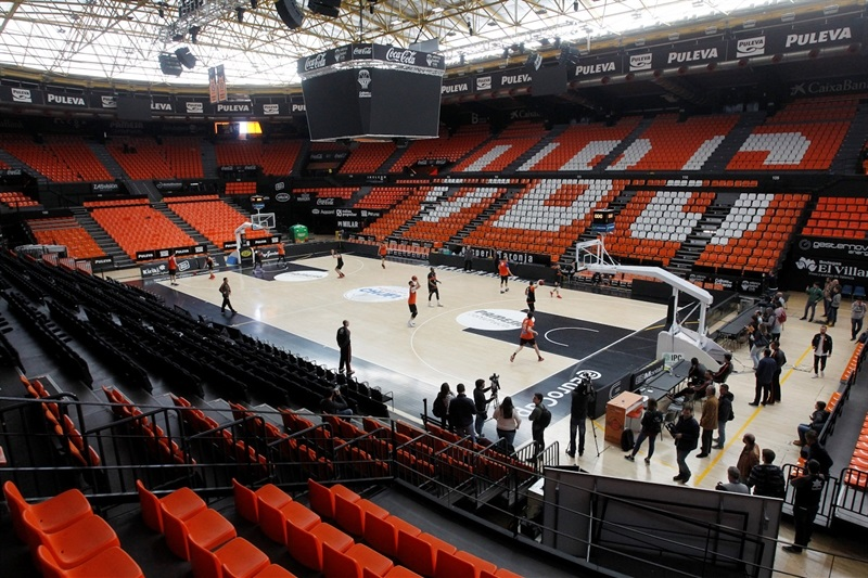 Valencia Basket practices - Finals 2017 - EC16