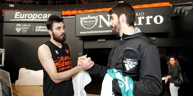 Finals, Game 1 practices: Valencia Basket vs. Unicaja Malaga