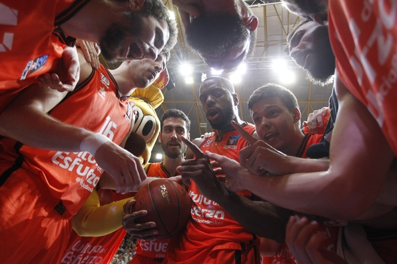 Valencia Basket celebrates - EC Finals 2017 - EC16