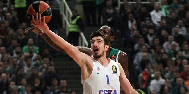 Regular Season, Round 29: Panathinaikos Superfoods Athens vs. CSKA Moscow