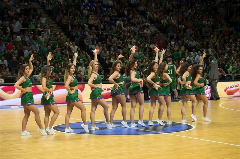 Cheerleaders - Unicaja Malaga - EC16