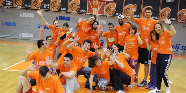 Cedevita celebrates World Down Syndrome Day with special One Team session
