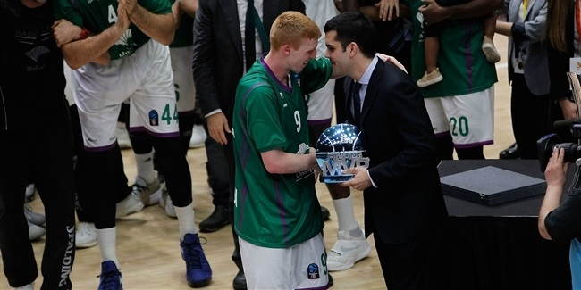 Alberto Diaz chosen MVP of EuroCup Finals