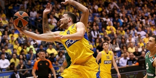 Regular Season, Round 30: Maccabi FOX Tel Aviv vs. Panathinaikos Superfoods Athens