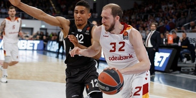 Regular Season Round 30:  Schilb, Guler lift Galatasaray to win in Bamberg