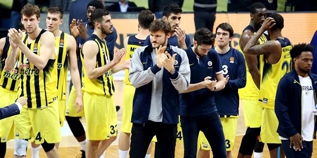 Road to the playoffs: Fenerbahce Istanbul