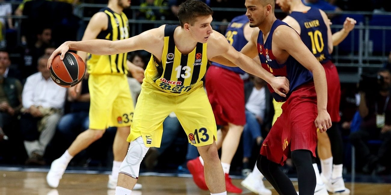 Regular Season Round 30: Bogdanovic leads Fenerbahce past Barcelona in overtime