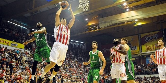 Drama to the last: Darussafaka vs. Zvezda