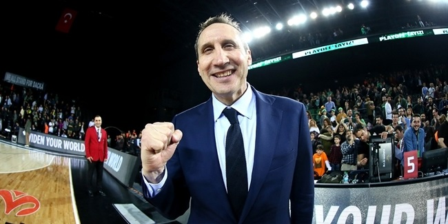 7DAYS EuroCup Finals head coach: David Blatt, Darussafaka Istanbul