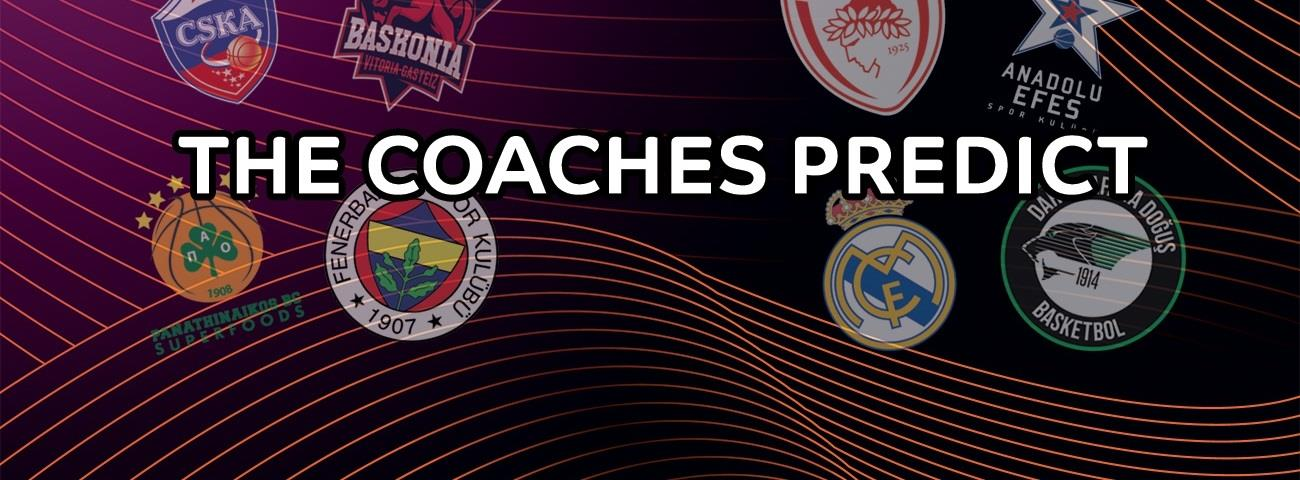 Playoffs predictions: EuroLeague head coaches