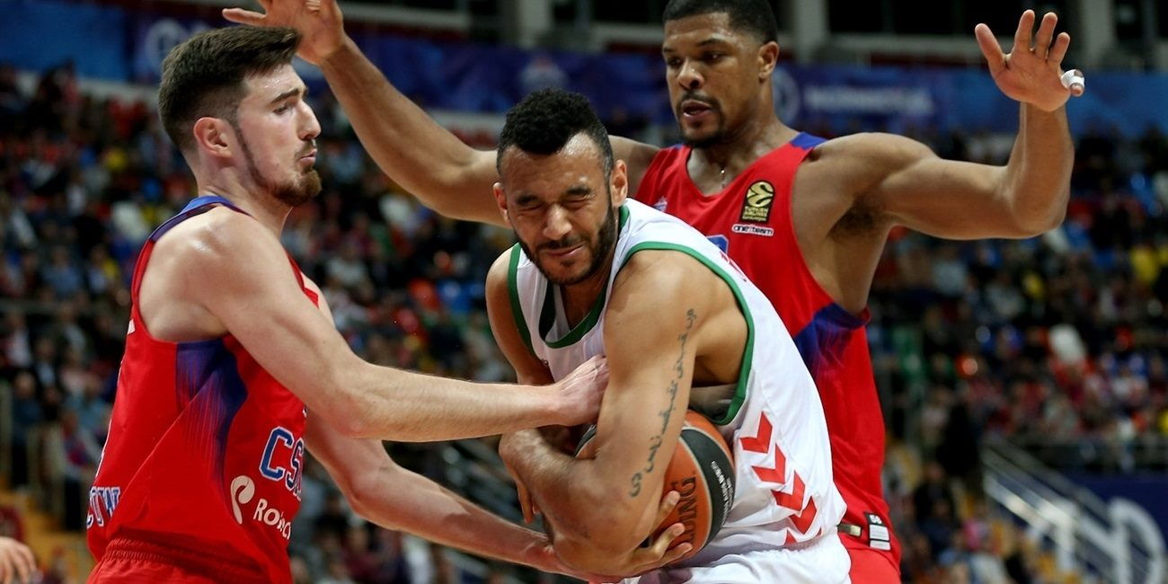 Playoffs Game 1: CSKA Moscow uses a late run to secure 1-0 series lead