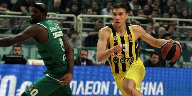 Playoffs Game 1: Bogdanovic's career night lifts Fenerbahce in Athens
