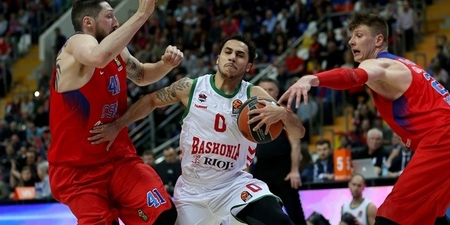 Playoffs Game 2: CSKA Moscow vs. Baskonia Vitoria Gasteiz
