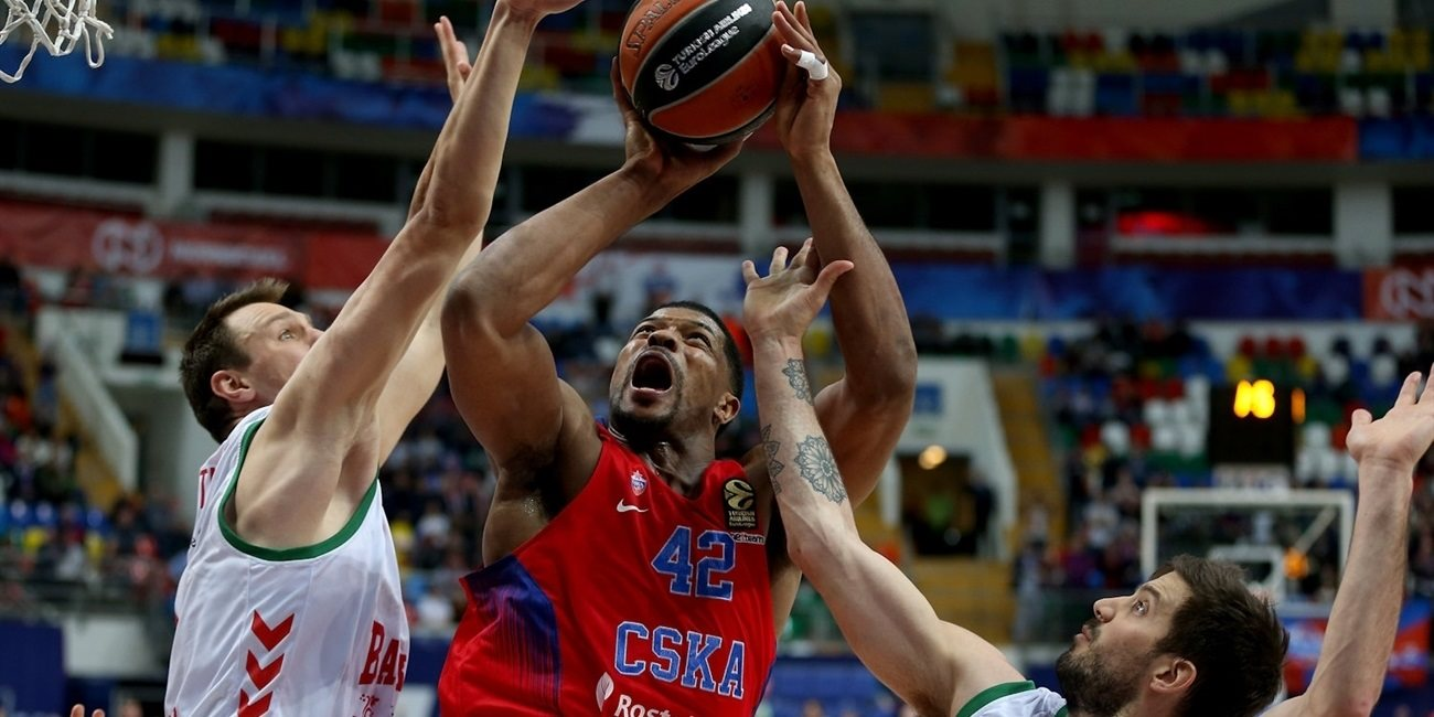Playoffs Game 2: Hines the hero as CSKA edges Baskonia for 2-0 series lead