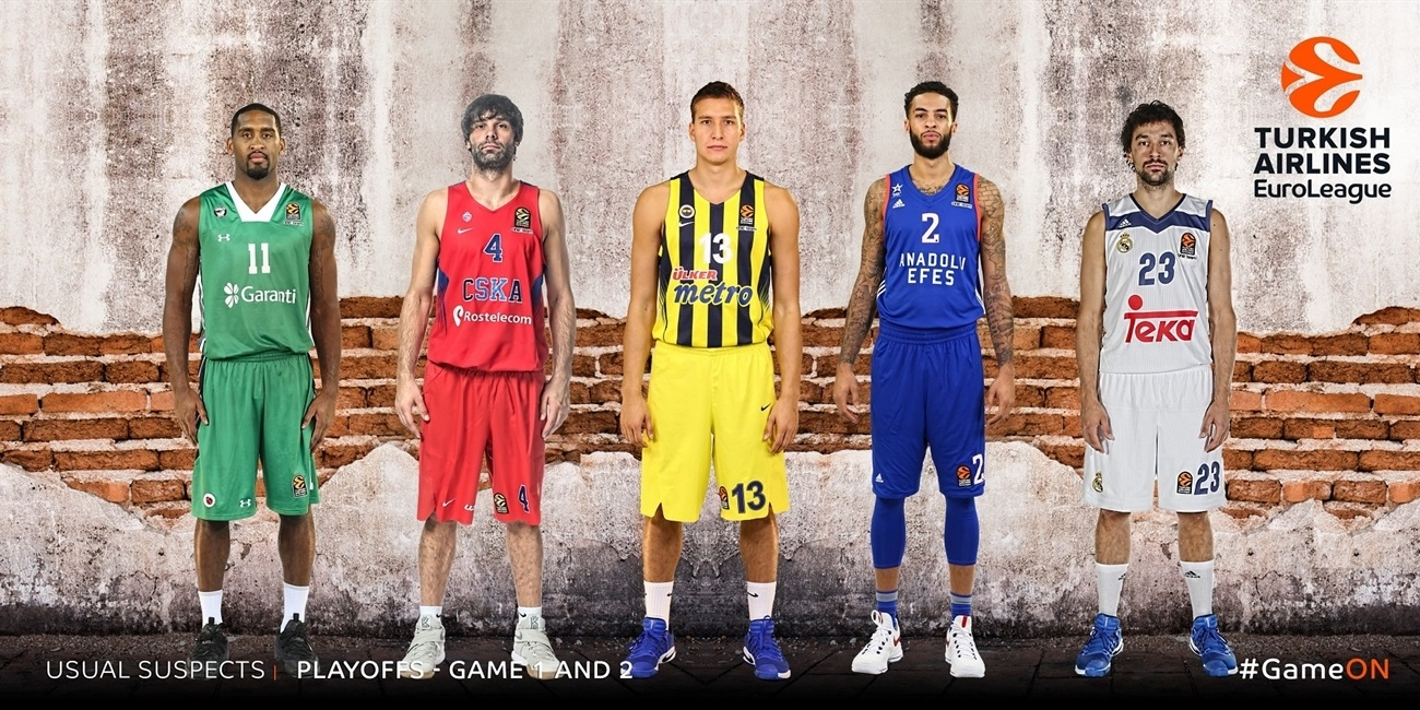 The Usual Suspects by Eurohoops.net: Playoffs Games 1 and 2