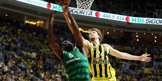 Playoffs Game 3: Fenerbahce Istanbul vs. Panathinaikos Superfoods Athens