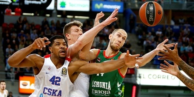 Playoffs Game 3: Baskonia Vitoria Gasteiz vs. CSKA Moscow