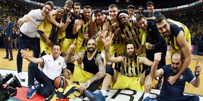 Playoffs Game 3: Fenerbahce reaches third straight Final Four with sweep of Panathinaikos