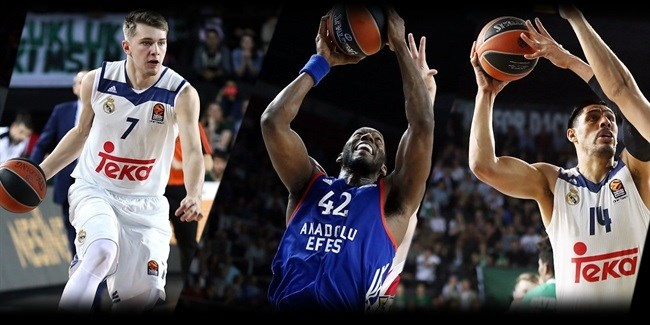 Playoffs Game 3 tri-MVPs: Dunston, Ayon and Doncic