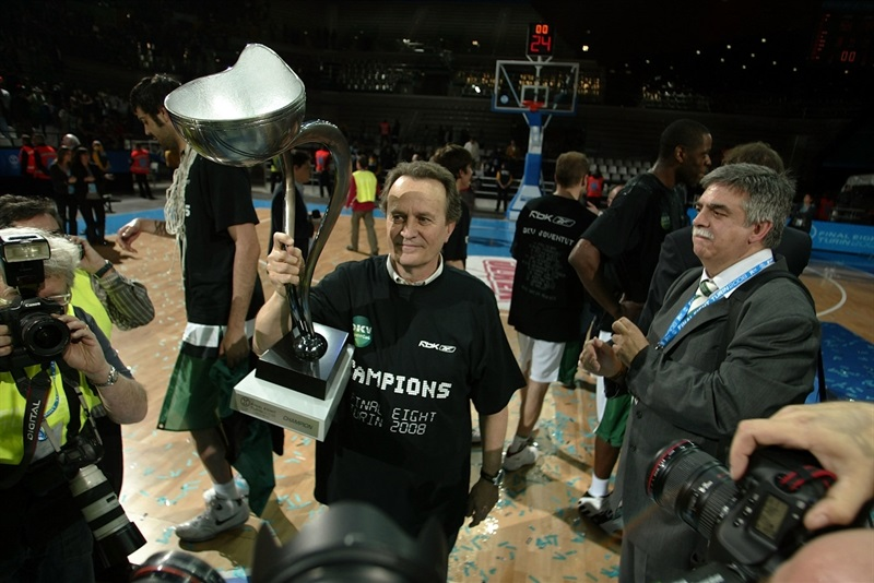 Aito Garcia Reneses - DKV Joventut Champ - Final Eight Turin 2008