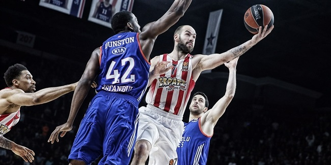 Playoffs Game 5 MVP: Vassilis Spanoulis, Olympiacos Piraeus