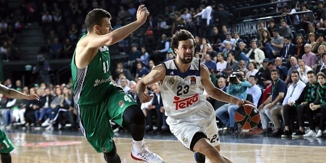 Playoffs Game 4: Darussafaka Dogus Istanbul vs. Real Madrid