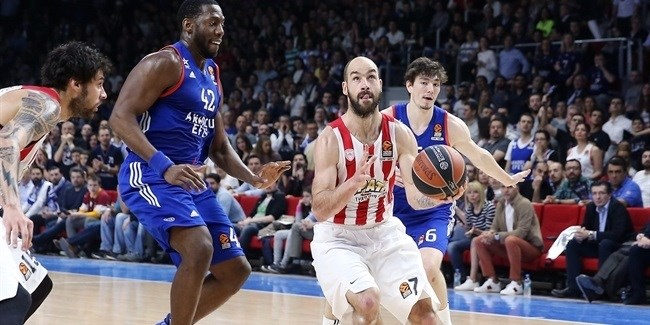 Playoffs Game 4: Spanoulis ,Olympiacos, win in Istanbul, force Game 5